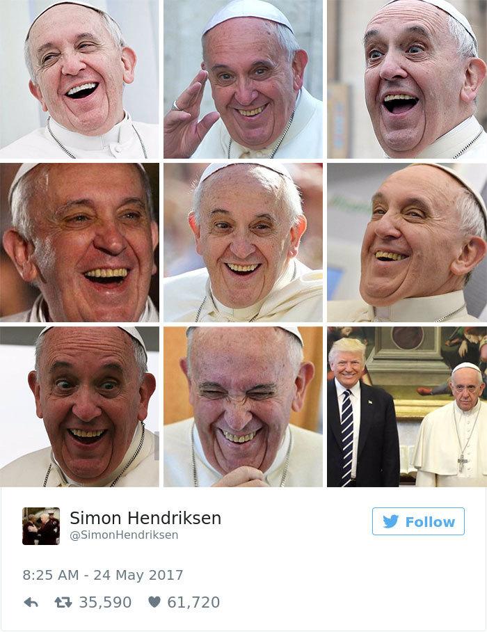 Визит Трампа в Ватикан