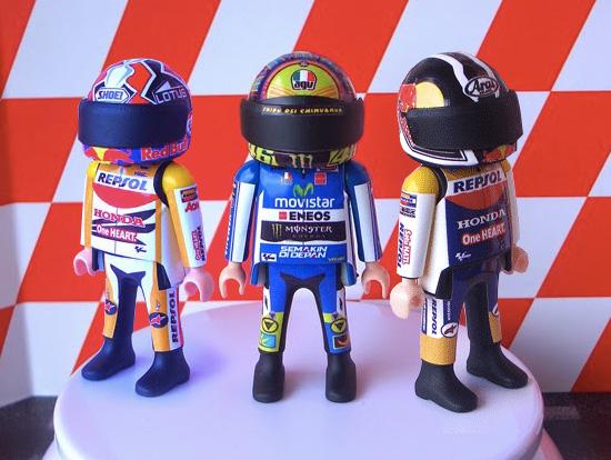 В Playmobil появились пилоты MotoGP - Фото 1