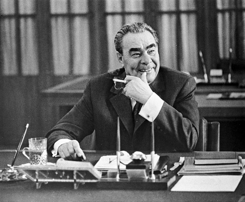 36 лет назад, 10 ноября 1982 года, скончался Леонид Ильич Брежнев (видео)