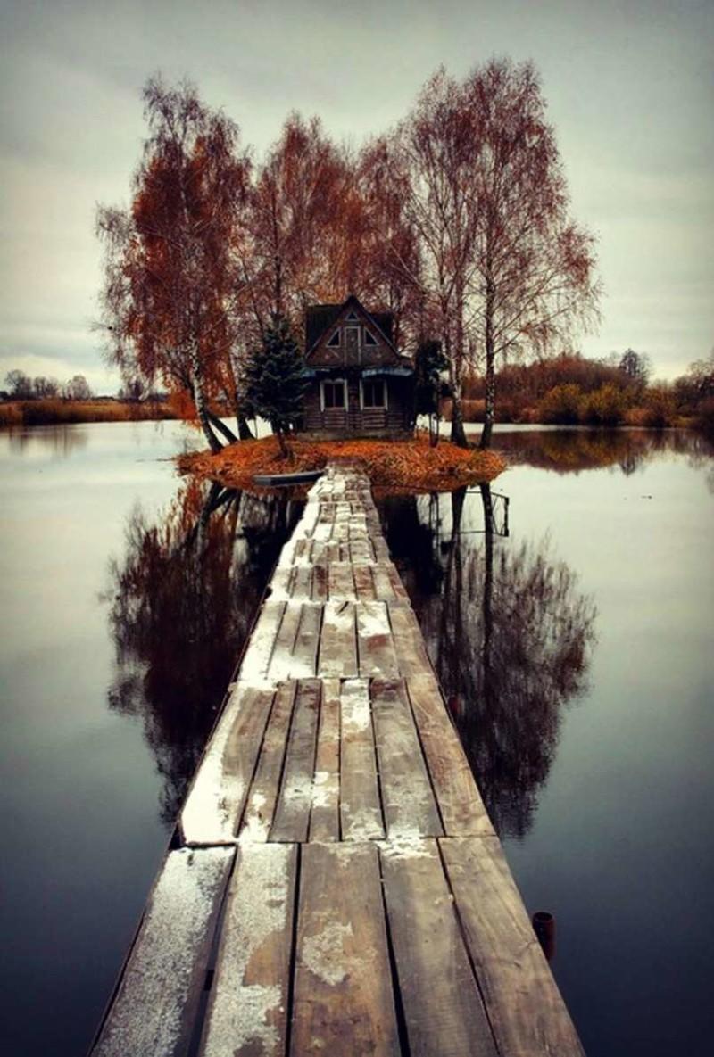 1. Дом на острове в Финляндии заброшенные места, крипи, прикол, ужас