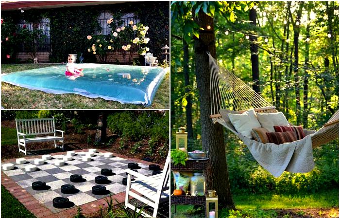 13 идей для зон отдыха, которые можно воплотить в жизнь на собственной даче