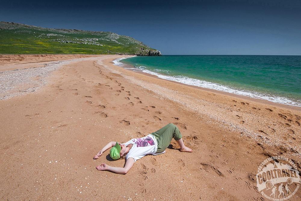 Где в Крыму самые чистые песчаные пляжи и море