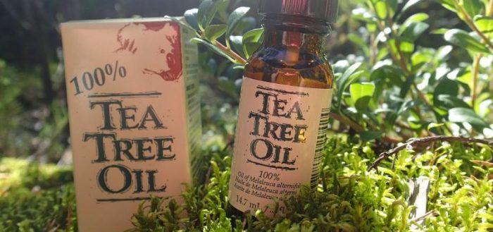 Масло чайного дерева действи…