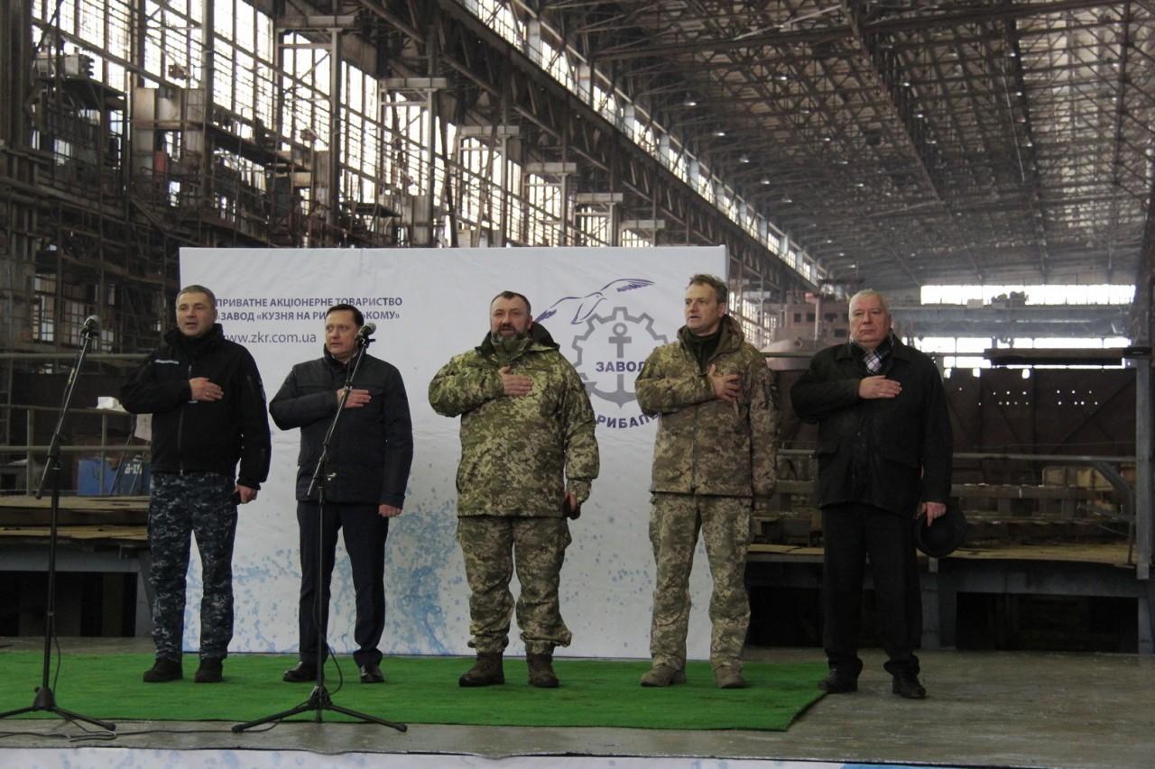 Для ВМС Украины заложены еще два катера