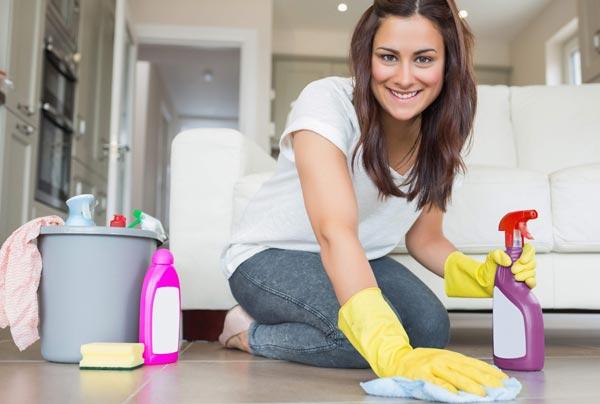 5 способов облегчить уборку в доме.