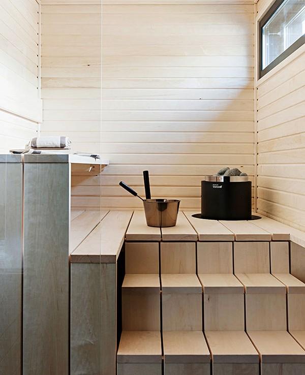 Отделка и дизайн бани внутри фото