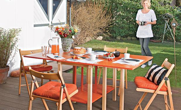 Садовые столики своими руками: фото интересных идей для дачи, сада и огорода