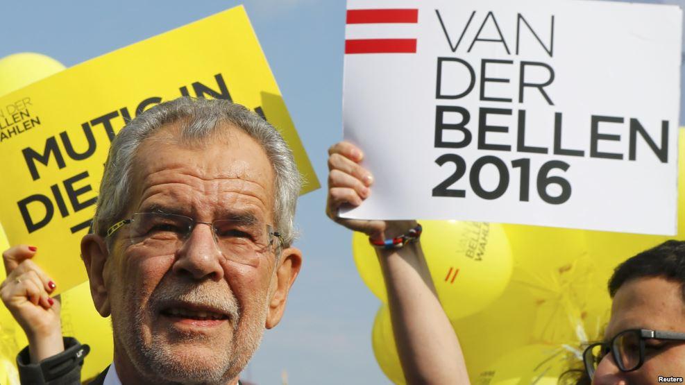 Новый президент Австрии Александр Ван дер Беллен имеет русское происхождение