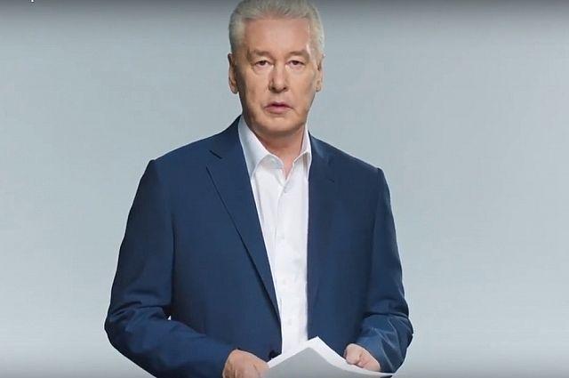 Собянин записал видеоролик, в котором призвал горожан прийти на выборы