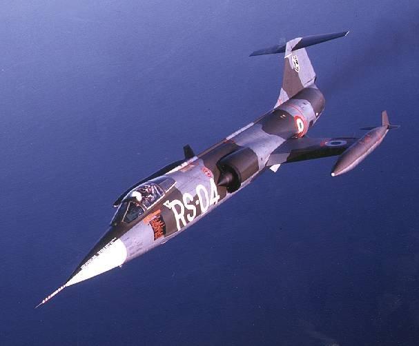 Звездный боец: истребитель Lockheed F-104 Starfighter