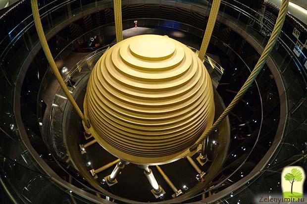 Гигантский небоскреб Тайбэй 101 в Тайване - 6