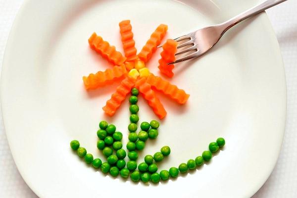Как украсить еду на детской тарелке — 7 идей