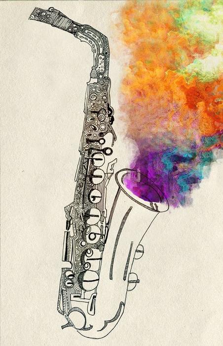 Музыкальное настроение в живописи