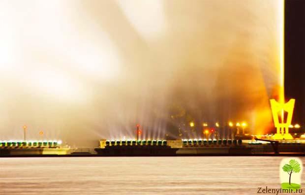 Фонтан Фахда - самый высокий фонтан в мире, Саудовская Аравия - 4