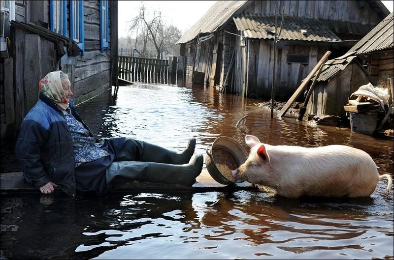 Половодье - это старинная русская традиция