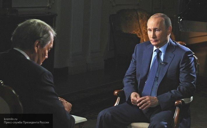 После интервью с Путиным аме…