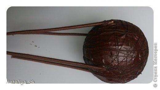 Мастер-класс Поделка изделие Моделирование конструирование Воздушный кофе-шар МК Кофе Шпагат фото 13
