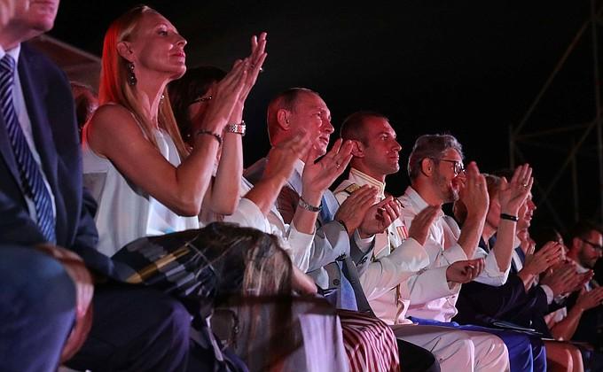 Посещение фестиваля «Опера в Херсонесе»