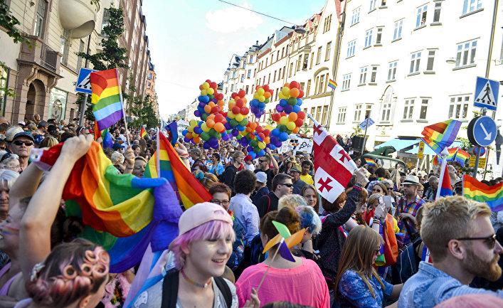 США: процент однополых отношений растет (The Washington Post, США)