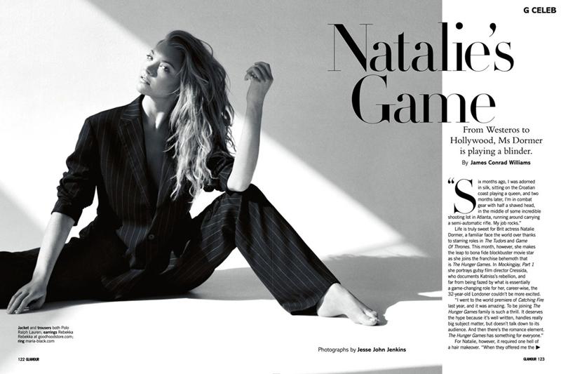 Натали Дормер за ноябрь,декабрь 2014 года