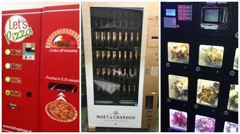 20 крутых торговых автоматов, которые словно пришли из будущего Вендинговые автоматы, С миру по нитке, вендинговый аппарат, вот это да!, до чего техника дошла, познавательно, торговые автоматы, торговый автомат