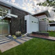 Красивый дизайн одноэтажного дома