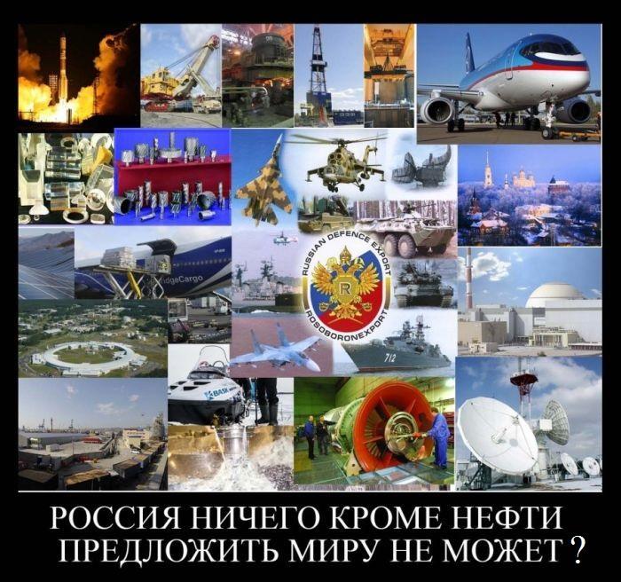 Российский экспорт - это не только нефть и газ
