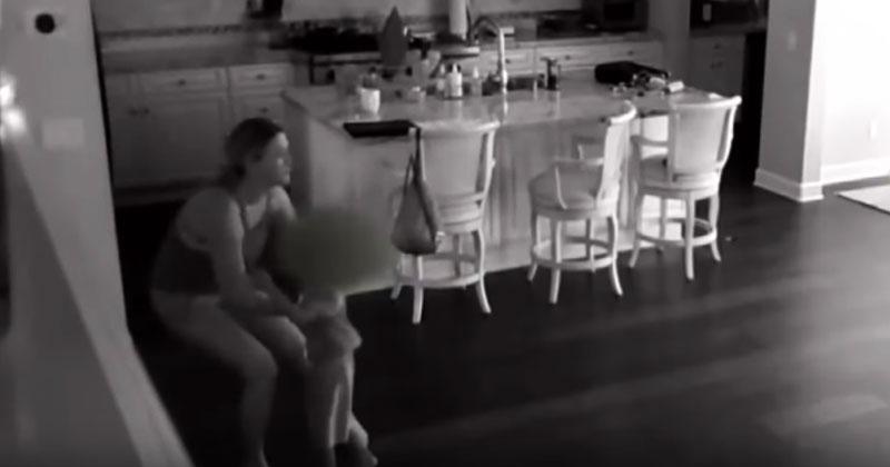 Родители наняли новую няню для ребенка. Когда они посмотрели видео скрытой камеры, были ошарашены!
