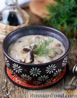 Фото приготовления рецепта: Грибы в сметанном соусе - шаг №9