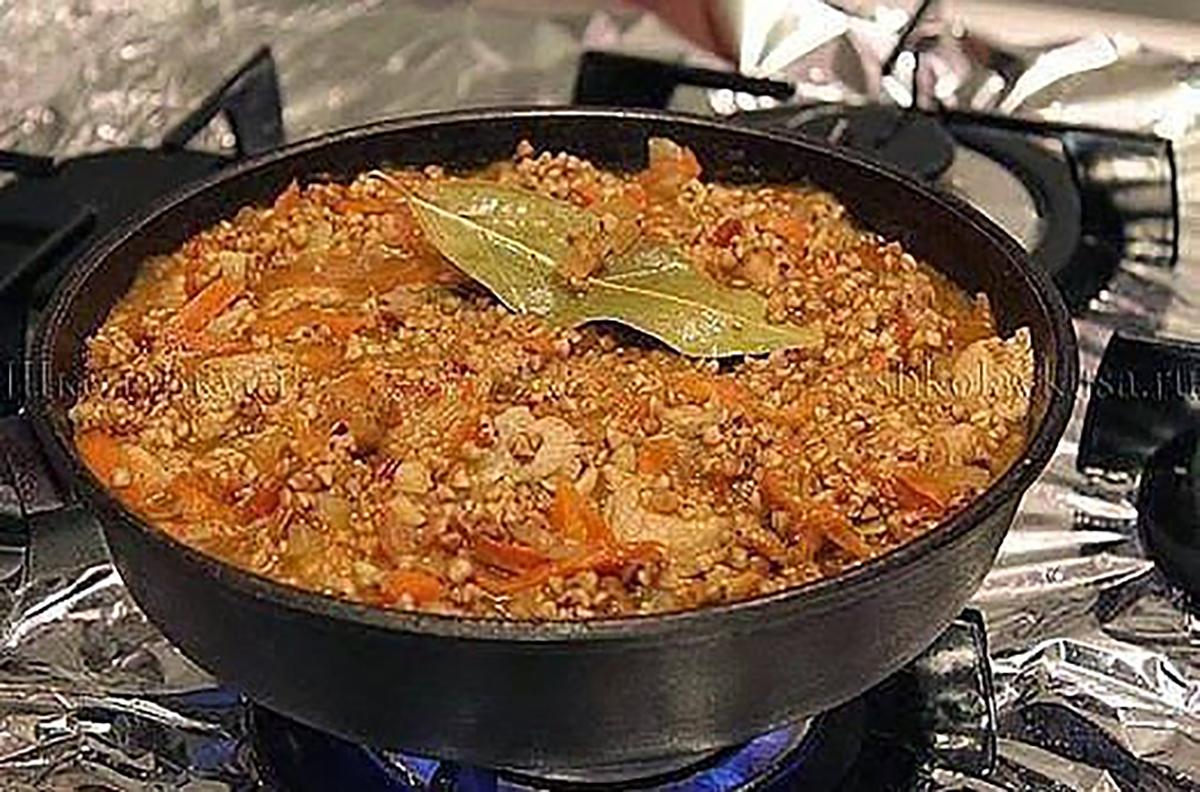 Рецепт вкусной гречки с мясом