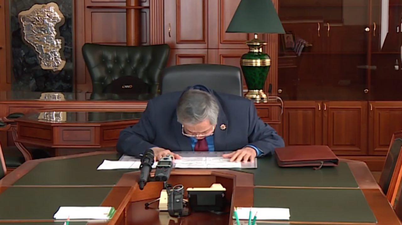 """""""Я сделал всё что мог"""": Аман Тулеев подал в отставку"""