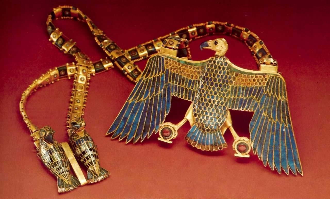 Украшения древних египтян: Как выглядели, из чего делали,  для чего носили