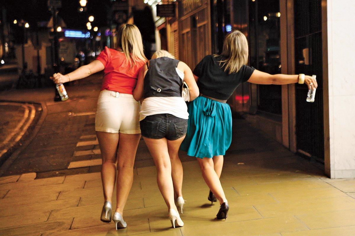 Пьяные дамы