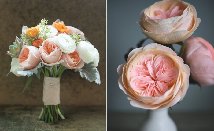 Потрясающая роза Джульетты. | Фото: theknot.com.