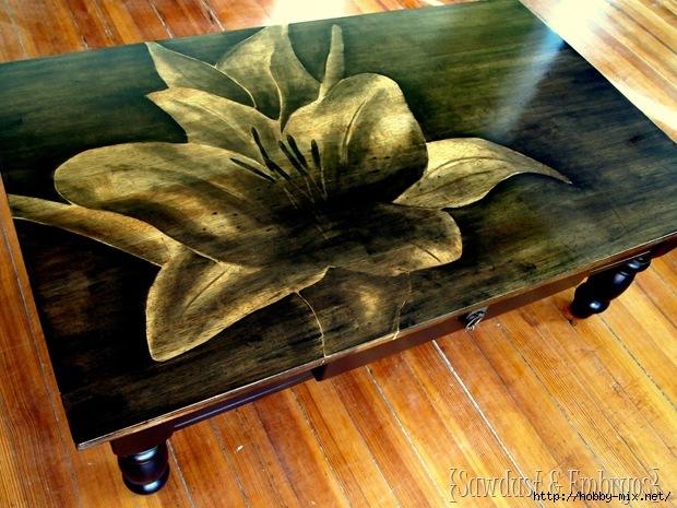 Интересная идея реставрации мебели