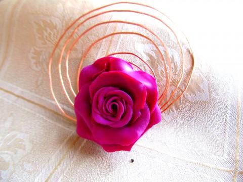 Роза в меди-2   (Дизайн от Ирины)