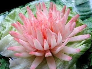 Карвинг для начинающих. Цветы из лука