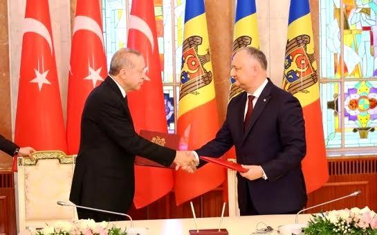 Эрдоган находится вМолдавии…