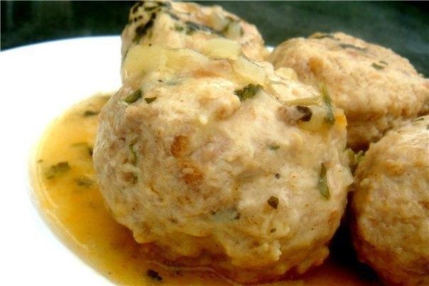Тефтели в грибном соусе рецепт с фото