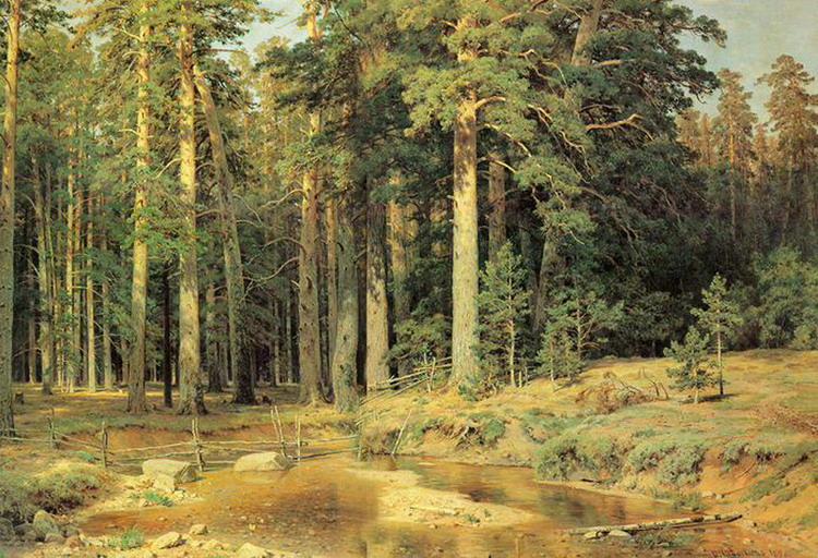 Картины Ивана Шишкина (1)