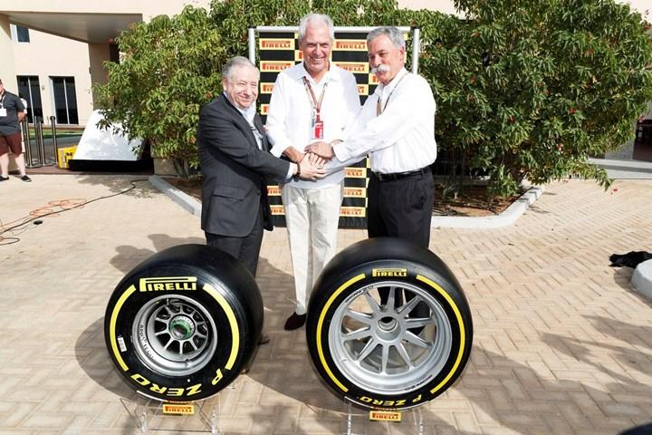 Pirelli остается эксклюзивным поставщиком шин Формулы-1 до 2023 года