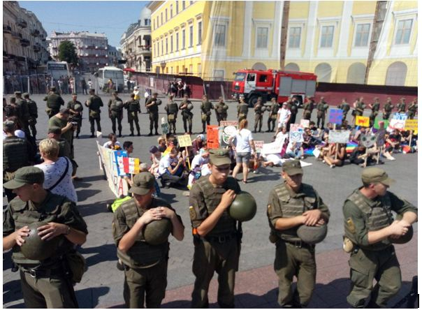 Э-ге-гей, Одесса! Город-герой скатился до гей-парада?