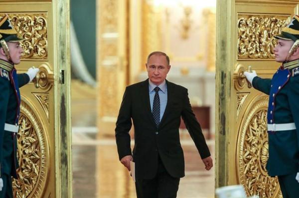 Ложь Владимира Путина на инаугурации президента 2018