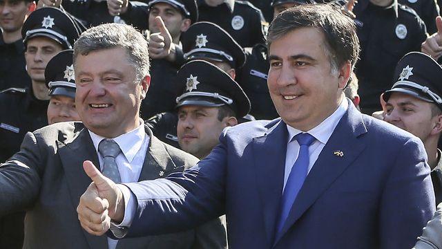 Киев перешел красную черту: Москва отправит Порошенко вслед за Саакашвили