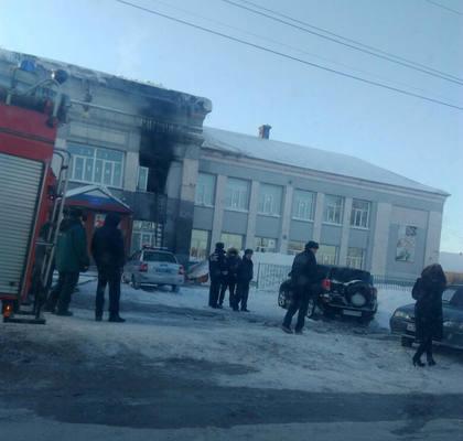 СК начал проверку по факту пожара в кузбасской школе