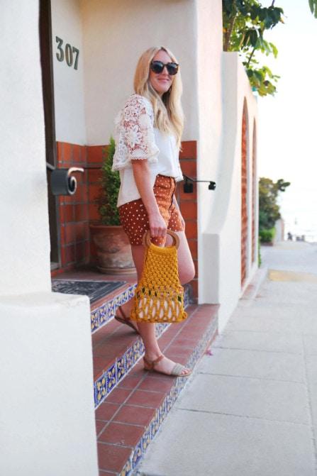 Трансформируем обычный клубок ниток в летний аксессуар для модного образа. Как связать сумку авоську