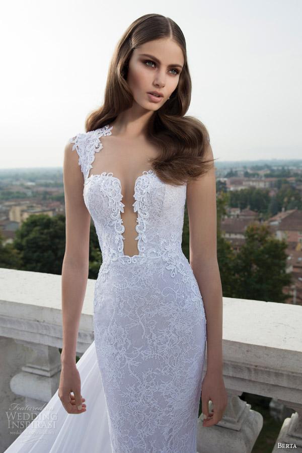 berta-bridal-winter-2014-cap-sleeve-lace-wedding-dress