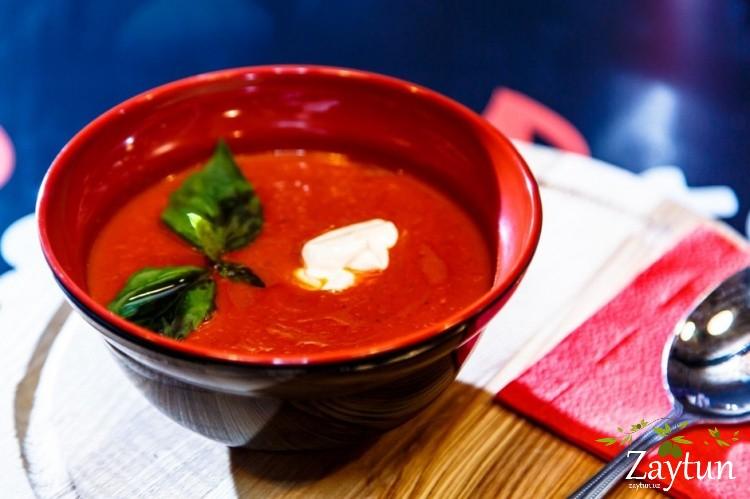 Суп из печеного перца