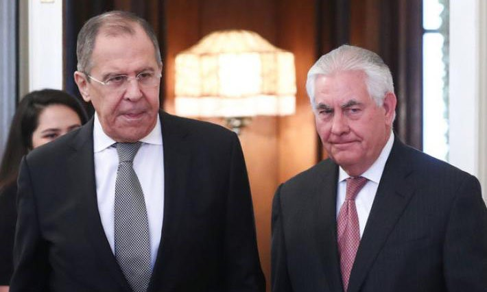Лавров потребовал у Тиллерсона вернуть российскую собственность
