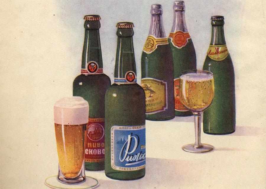 10 сортов советского пива в …